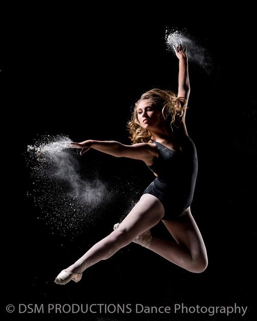 dance powder shoot