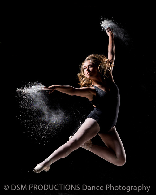 dance powder shoot